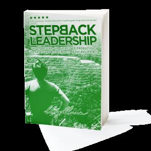 Step Back Leadership Book
